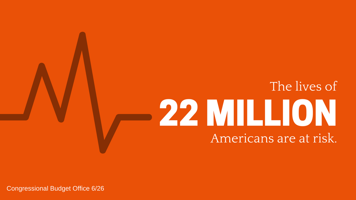 22million lives at risk of uninsured