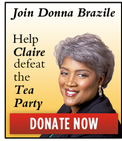 Join Donna Brazile and Help Claire defeat the Tea Party