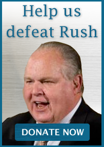 Help us defeat Rush: Donate Now