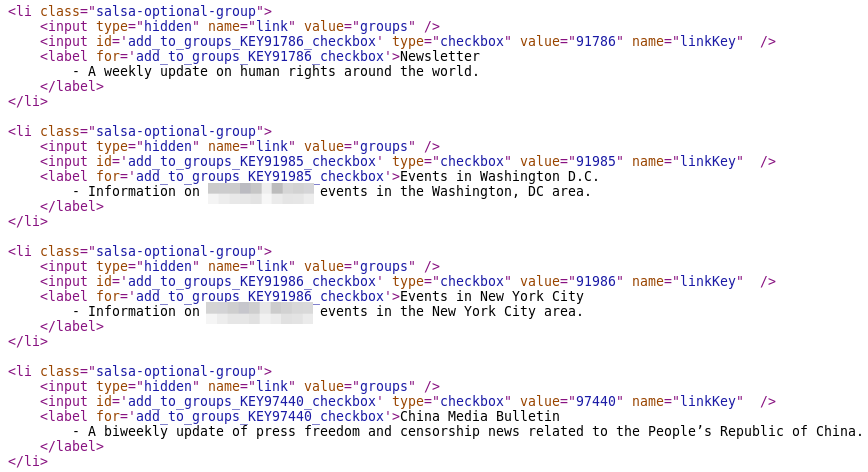 Source showing that optional groups are a long, indivisible string.
