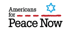 [image - Americans for Peace Now logo]