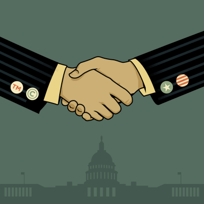 TPP- Trans-Pacific Partnership  Digital-handshake-square